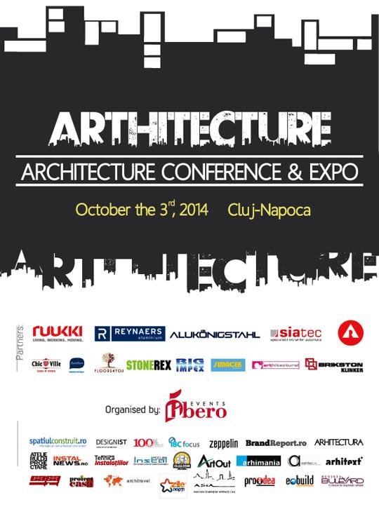 ARThitecture Conference & Expo reuneste la Cluj Napoca peste 150 de arhitecti din intreaga tara