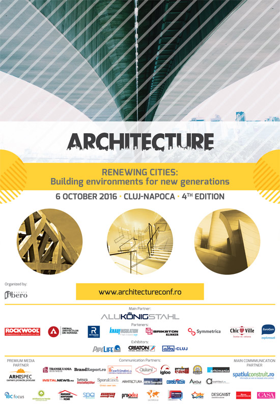 Afis Architecture 2016 octombrie