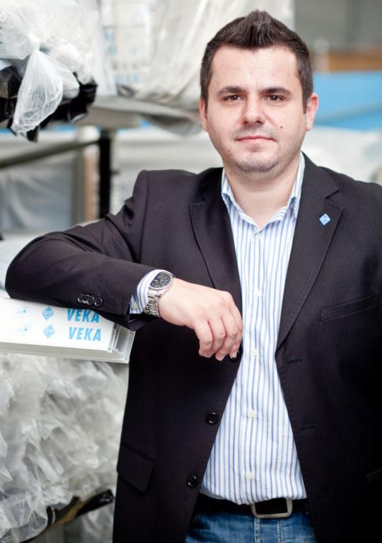 Alexandru Oancea, Marketing Manager VEKA Romania