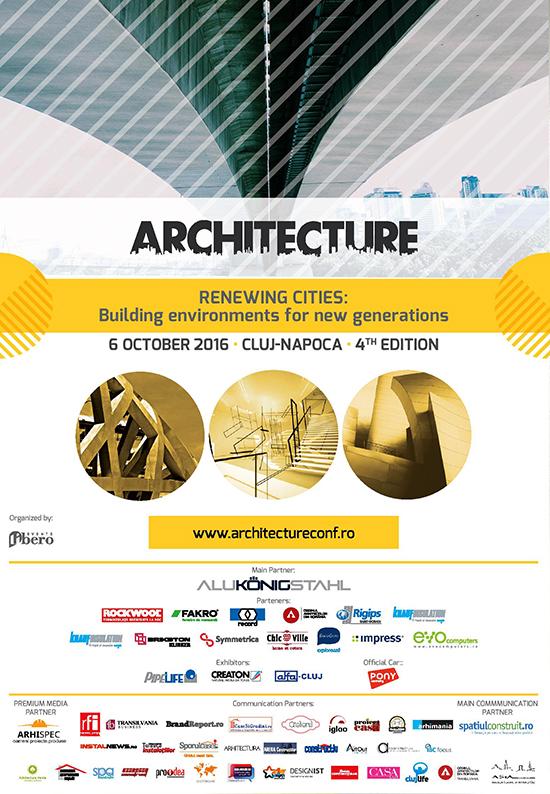 Arhitecture Conference&Expo afis editia 2016
