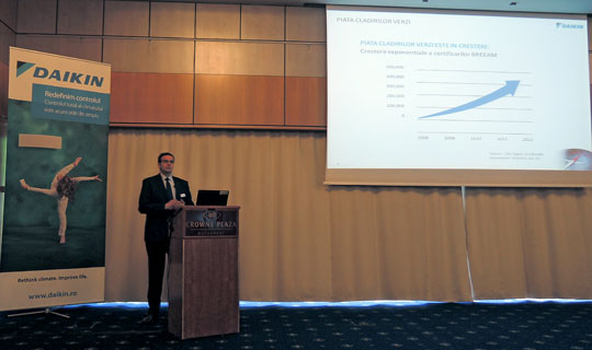 Catalin NEGRUTIU, Consulting Sales si Project Business Developer, DAIKIN Airconditioning Central Europe – Romania
