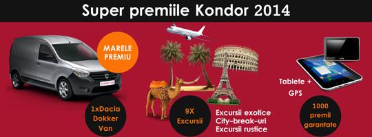 Concursul Kondor 2014 pentru parteneri
