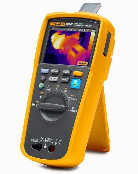 Fluke 279FC, unicul multimetru digital cu camera infrarosu din lume