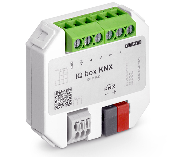 GEZE-IQboxKNX sisteme pentru fatade active climatic