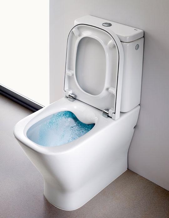 Roca Clean Rim flush