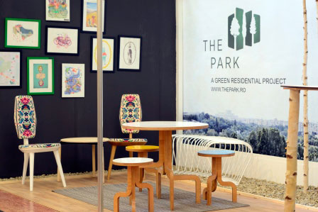 Stand THE PARK, Project Expo, 2015