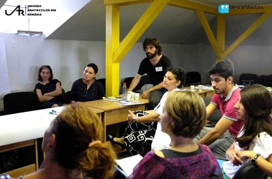 Trainingul de formare a indrumatorilor Asociatiei De-a arhitectura