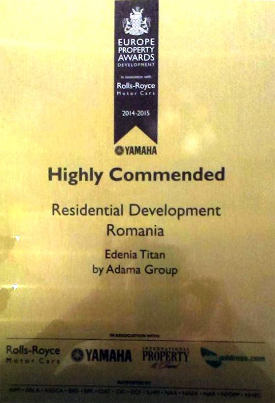 Ansamblu Edenia Titan premiu IPA Award