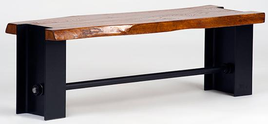 banca-lemn-metal-creativ