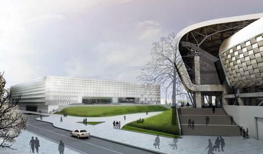 Contractor 2014 sala polivalenta cluj perspectiva