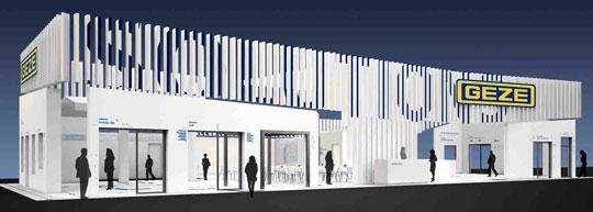 GEZE-Munchen 2015 Targul mondial pentru arhitectura, materiale si sisteme BAU