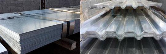 H Metal - tabla zincata ondulata