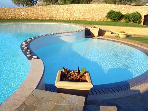 piscina ceramica, piscine vidor