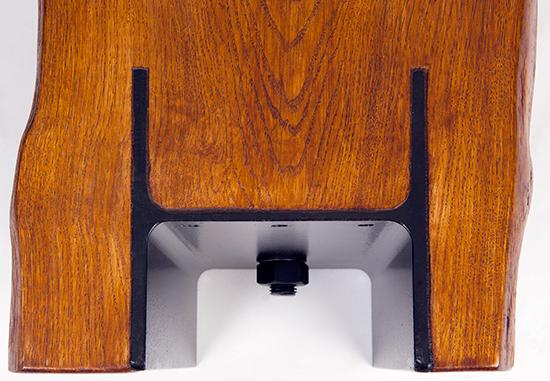 profil-H-incastrat-in-banca-lemn