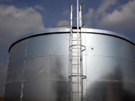 H Metal - rezervor de apa de mare capacitate
