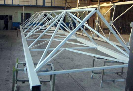 Structura metalica din teava patrata, H-Metal