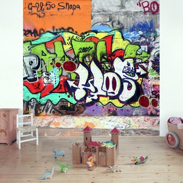 Fototapet-vlies-Graffiti-colorat-arbex-art-decor-min