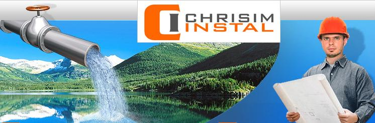 Firma Chrisim Instal. Descriere si informatii de contact.
