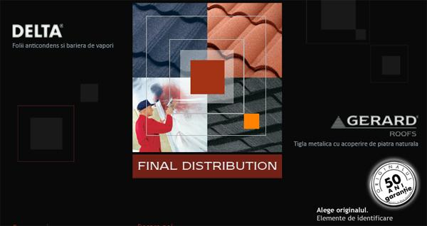 Firma Final Distribution. Descriere si informatii de contact.