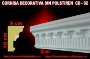 Cornisa decorativa din polistiren