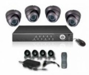 Kit interior 4 camere Dome IR DVR
