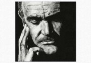 Tablou canvas portret - Sean Connery