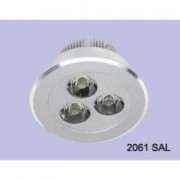 Spot fix 3x1W LED IP20 45.5x19x32cm, transformator inclus