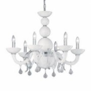 Candelabru WINDSOR SP6 alb