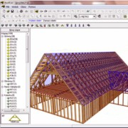 RoofCon Proiect, program 3D proiectare structuri din lemn de la firma  Mitek Industries Group