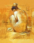 Tablou ''Nud II'' inramat de la firma Arbex Art Decor