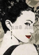 Tablou decorativ ''Lady'' inramat de la firma Arbex Art Decor