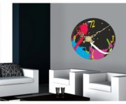 Ceas de perete Time Painter de la firma Arbex Art Decor