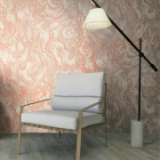Tapet vinil marmorat cu pattern abstract in culori deschise de la firma Arbex Art Decor