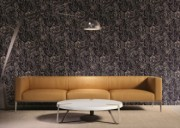 Tapet vinil marmorat cu pattern abstract in culori tari de la firma Arbex Art Decor
